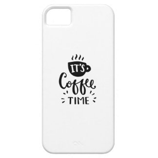 It's Coffee Time Case For The iPhone 5