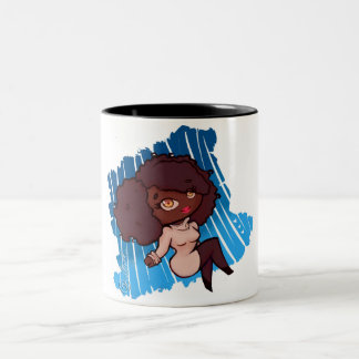 It's Cold Outside, Guys Two-Tone Coffee Mug