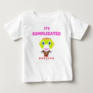 Its Complicated-Cute Monkey-Morocko Baby T-Shirt