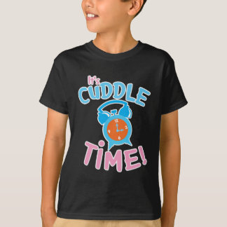 It's cuddle time with cute clock T-Shirt