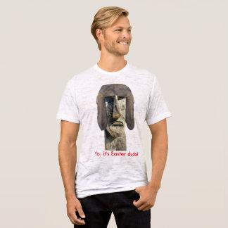 It's Easter Dude Burnout T-Shirt