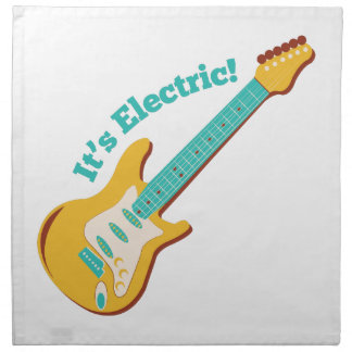 Its Electric Printed Napkin