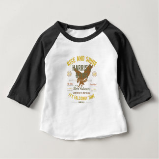 It's Falconry Time! Harris's Hawk Baby T-Shirt