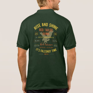 It's Falconry Time! Red Tailed Hawk! Polo Shirt