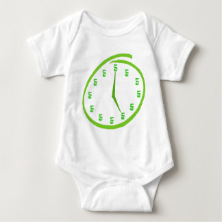 It's Five O'Clock Somewhere Baby Bodysuit