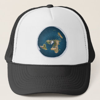 It's Flat.  No, Really. Trucker Hat