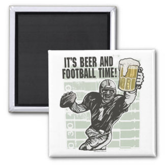 It's Football Time T-shirts and Gifts Square Magnet