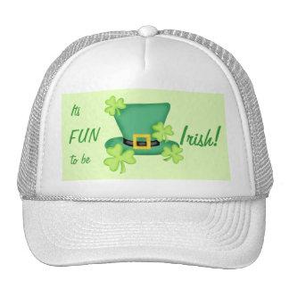Its Fun to Be Irish St. Patrick's Day Trucker Hat