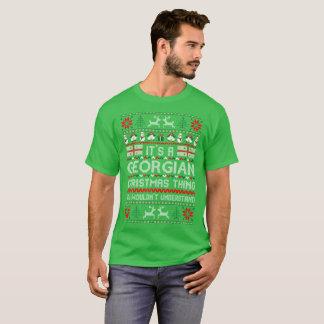 Its Georgian Christmas Thing Ugly Sweater Tshirt