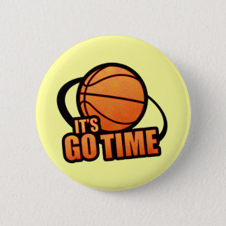 Its Go Time Basketball Button