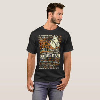 Its Going To Be Hard Thats The Point Horse Horseri T-Shirt