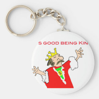 It's good being king key chain