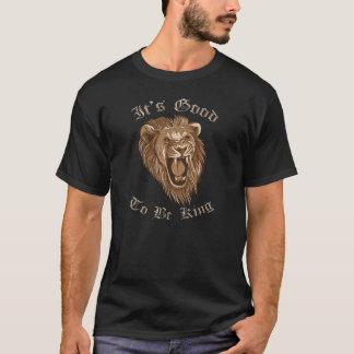 It's Good To Be King, Cool Lion Shirt Dark