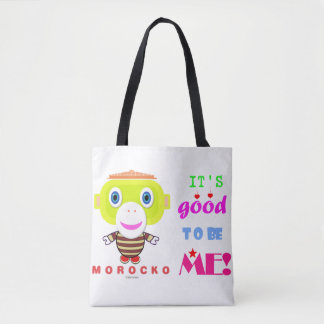 Its good to be me-Cute Monkey-Morocko Tote Bag