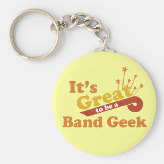 It's Great to Be a Band Geek Keychain