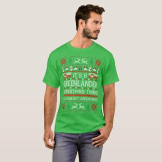 Its Greenlander Christmas Thing Ugly Sweater Shirt