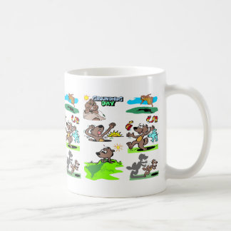 """IT'S GROUNDHOG DAY AGAIN!"" COFFEE MUG"