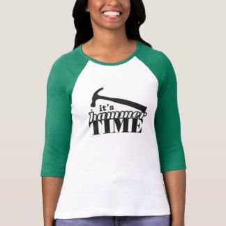 It's Hammer Time Women's Raglan Shirt