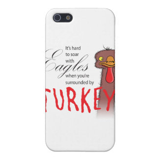 It's Hard To Soar With Eagles... Cases For iPhone 5
