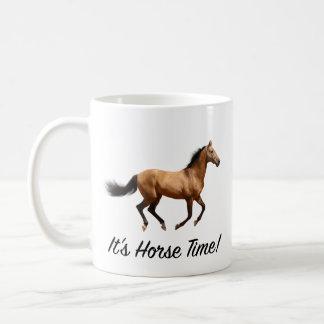 It's Horse Time Coffee Mug