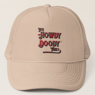 It's Howdy Doody Time! Retro Style Trucker Cap