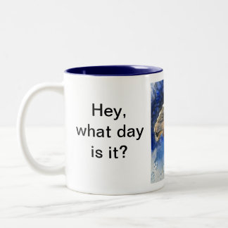It's Hump Day Two-Tone Coffee Mug