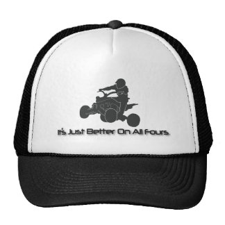 It's Just Better on All Fours Trucker Hat
