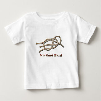 It's Knot Hard - Baby Clothing Baby T-Shirt