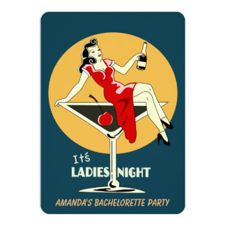 It's ladies night card