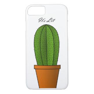 It's Lit Cactus iPhone 7 Phone Case