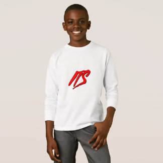 Its Logo (Red) | Kids Long Sleeve Shirt
