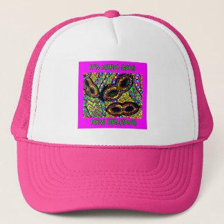 IT'S MARDI GRAS NEW ORLEANS TRUCKER HAT