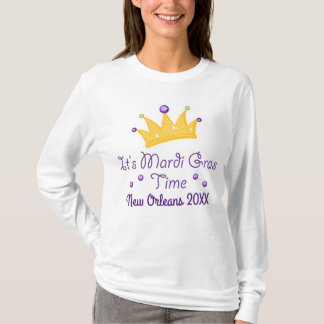 It's Mardi Gras Time Holiday Parade Party T-shirt