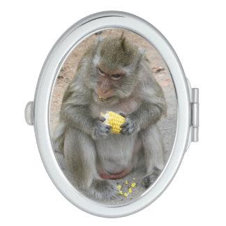 It's Mine!! ... Wild Thai Macaque Monkey Vanity Mirror