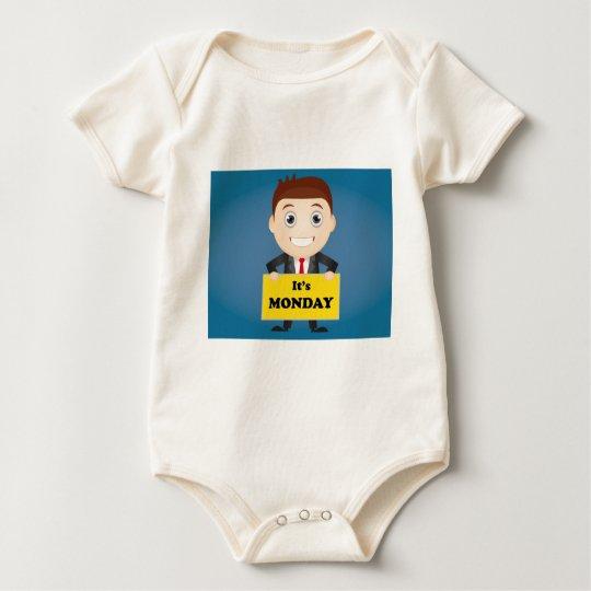 Its Monday Baby Bodysuit