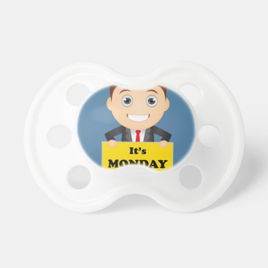 Its Monday Baby Pacifier