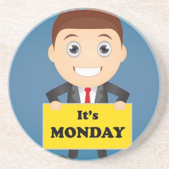 Its Monday Beverage Coaster