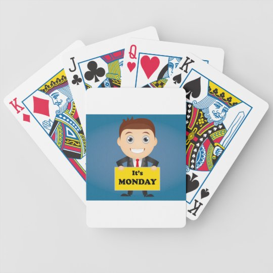 Its Monday Bicycle Playing Cards