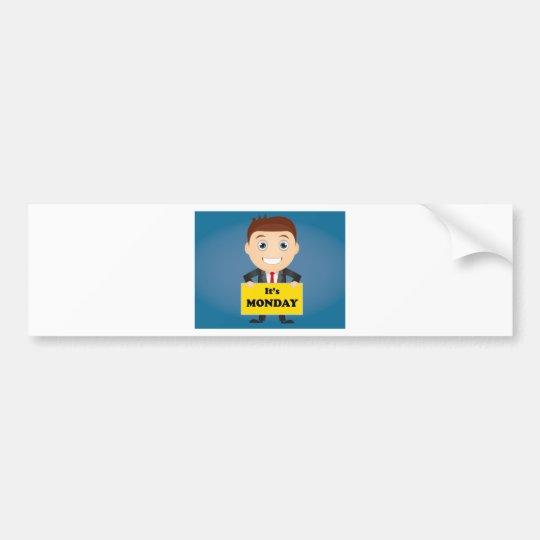 Its Monday Bumper Sticker