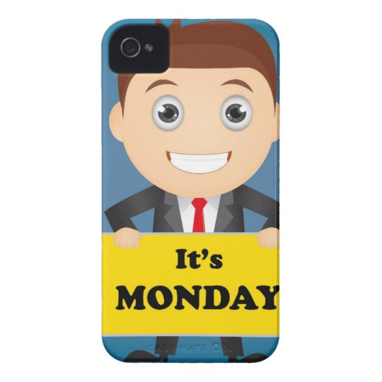 Its Monday iPhone 4 Case-Mate Cases