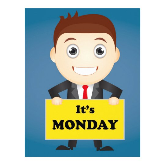 Its Monday Letterhead