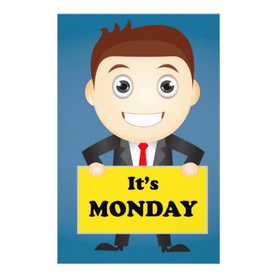 Its Monday Stationery