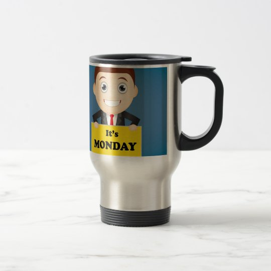 Its Monday Travel Mug