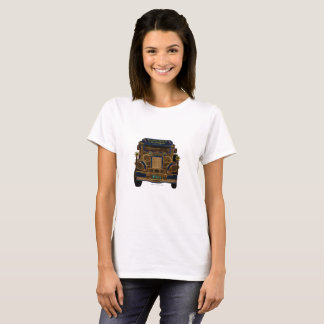 "It's more FUN in the Philippines Jeepney ""glow"" T-Shirt"