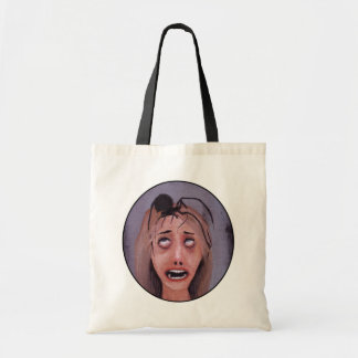 It's much too late to get away... tote bag