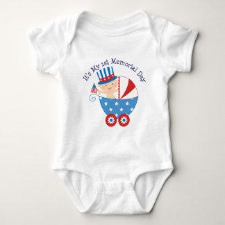 Its My 1st Memorial Day Baby Bodysuit