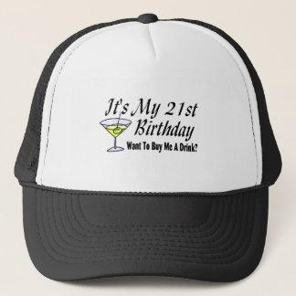 It's My 21st Birthday Trucker Hat