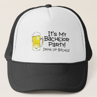 Its My Bachelor Party Beer Trucker Hat