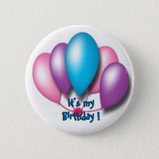Its my birthday 2 inch round button