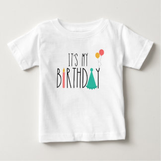 It's My Birthday Baby Kids Tee